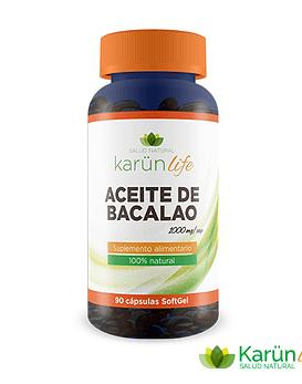 Aceite de Bacalao  90 Cápsulas 1000 Mg