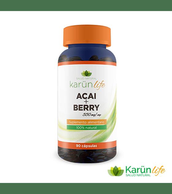 Acai+Berry  90 Cápsulas  550 Mg