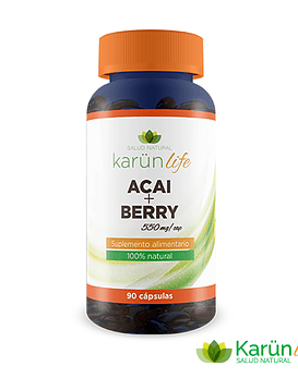 Acai+Berry  90 Cápsulas  550 Mg