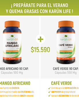 Pack Mango Africano + Café Verde