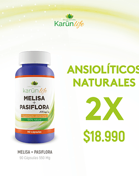 Pack Ansiolíticos Naturales