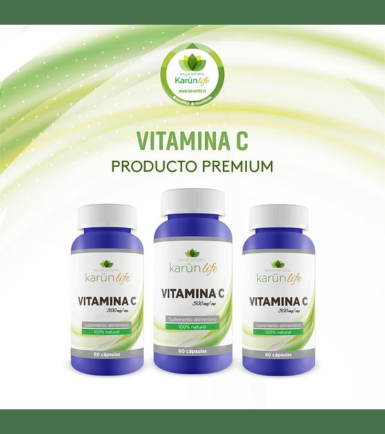 Pack 3 Vitamina C 60 cápsulas | Karun Life