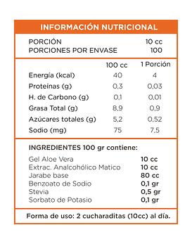 Aloe Vera Matico 500 Ml