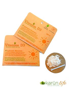 Vitamina D3 en Polvo
