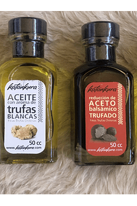 pack regalo 3 sabores trufados 50 ml