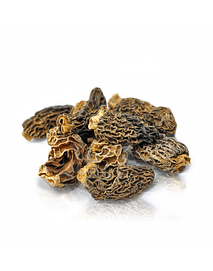 Morchelas deshidratadas, bolsa de 250 gr
