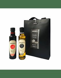 Pack regalo Aceite de trufas negras + Reduccion de Aceto balsamico trufado
