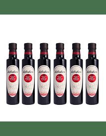 Caja de Reduccion de Aceto balsamico trufado (6 botellas de 250 ml c/u)