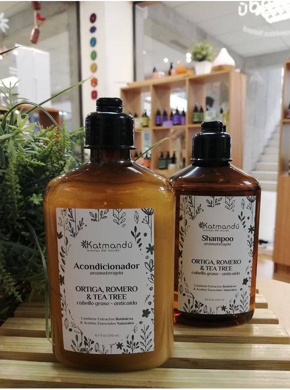 Pack Capilar Shampoo y Acondicionador