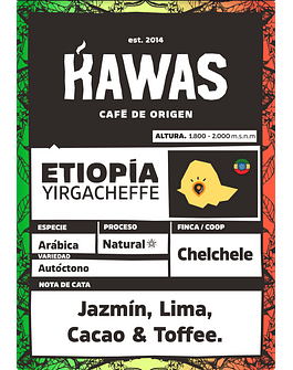 Café Etiopía Chelchele Natural (G1)