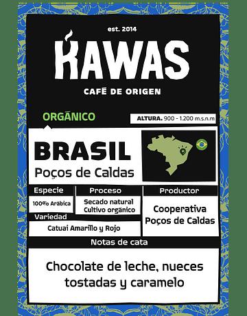 Café Brasil Poços de Caldas Orgánico