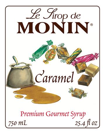 Saborizante Caramelo Monin 750 ml