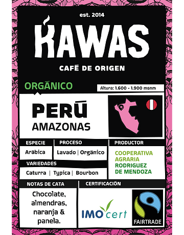 Café Perú Amazonas FTO