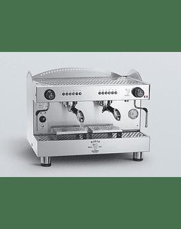 Cafetera Italiana Progrmable TALL 2 GR 100% Acero Inox AISI 304