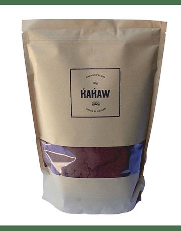 Chocolate en Polvo Kakaw 40% Puro Cacao