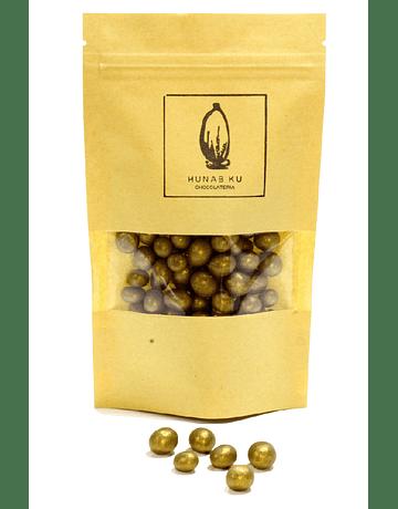 Grageado Gold Café Etiopía bañado Chocolate 35%  85 gr.