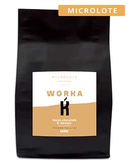 Café Microlote Etiopía Worka Natural