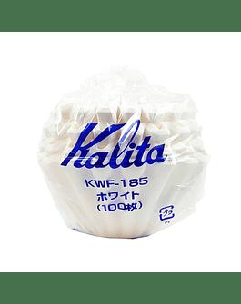 Filtros de Papel Kalita KWF-185 - 100 und