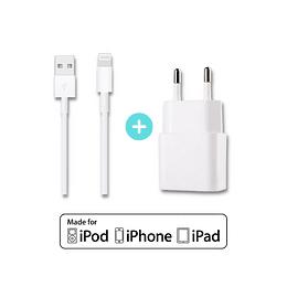 Promoción Cargador y Cable Lightning para iPhone - Carga Rápida