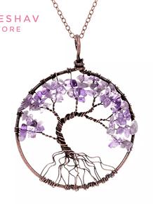 Árbol de la Vida en Cuarzo Rosa