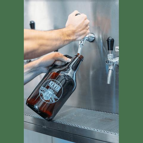 Growler 1.9 L [Lleno con cerveza]