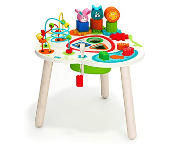 Workshop toy table