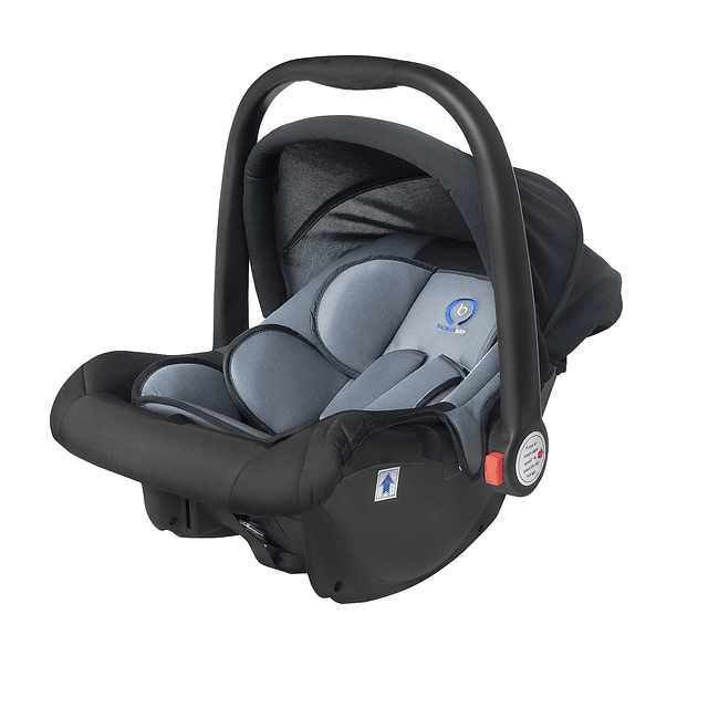 Coche Ultra compacto travel system Gris