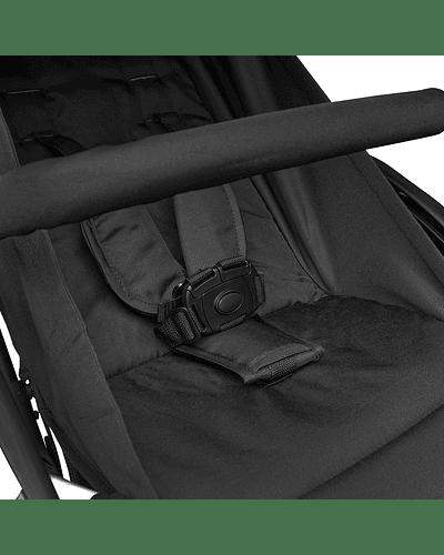 Coche ultra compacto travel system Negro