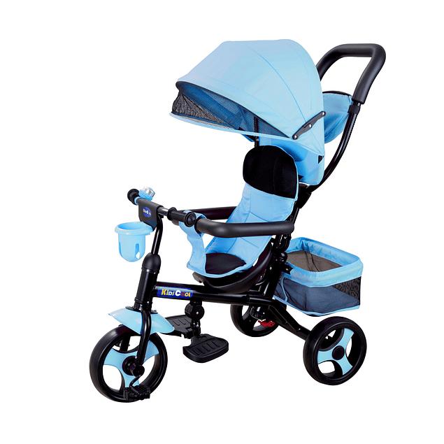 Triciclo 4 en 1 Azul