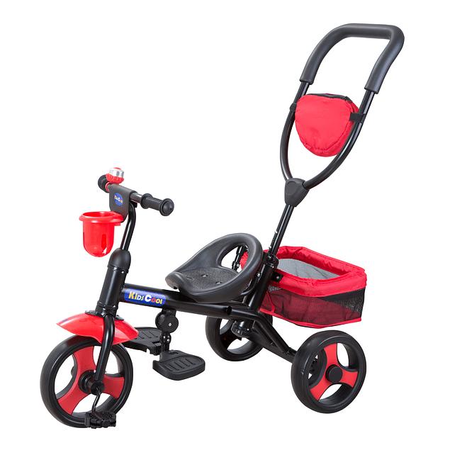 Triciclo 4 en 1 Rojo