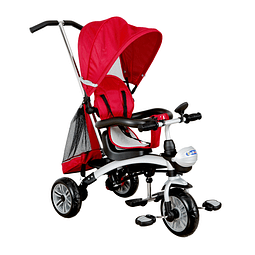 Triciclo 5 en 1 Rojo