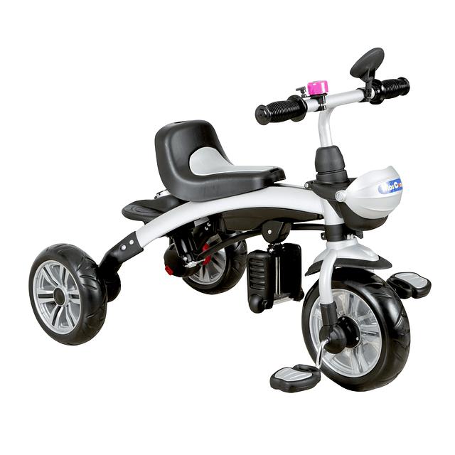 Triciclo 5 en 1 Rosado
