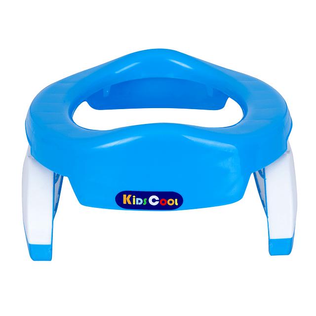 Siento Adaptador WC Azul