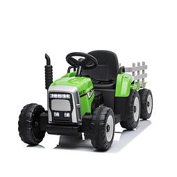 Tractor A Bateria Con Remolque
