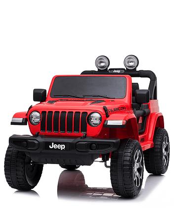 Jeep Rubicon Rojo Bateria