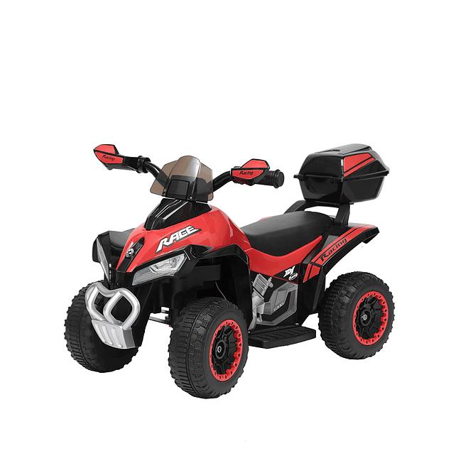 Moto Atv Roja Bateria