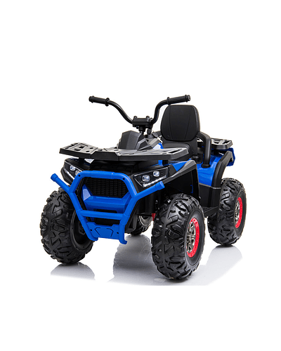 Moto Atv 2 Motores New Monster Azul