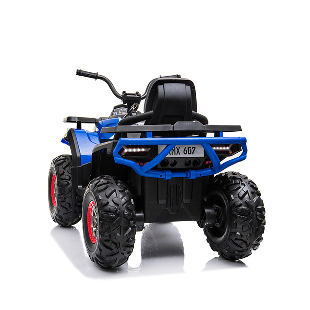 Moto Atv 2 Motores New Monster Azul
