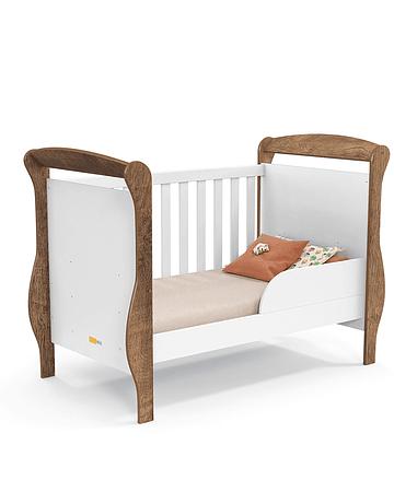 Cuna Smart Blanca Eco/Wood