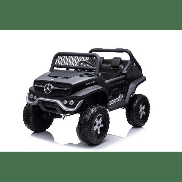 Buggy Unimog Mercedes Negro