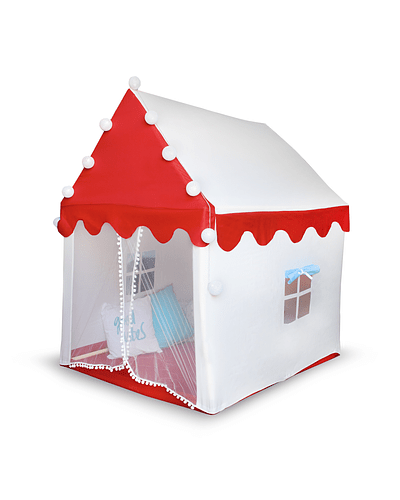 Tent House Blue