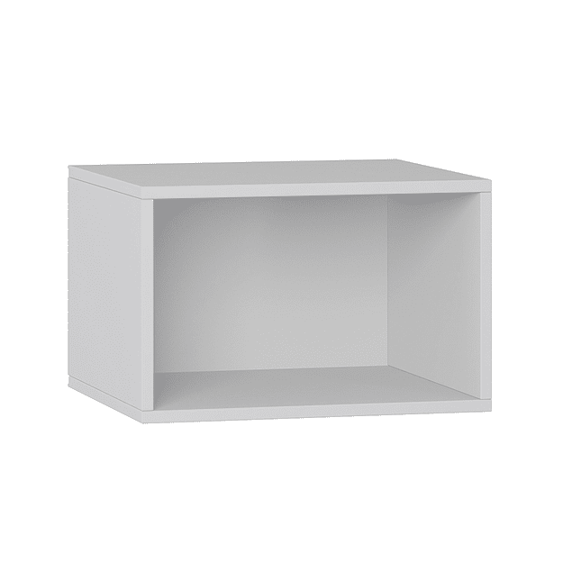 Repisa Rectangular 1002 Retro Blanca