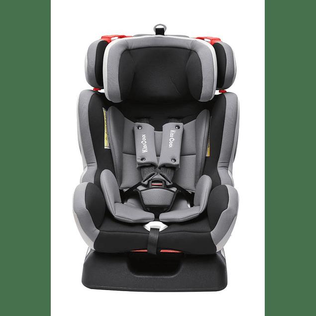 Silla de auto Monaco Negro/Gris