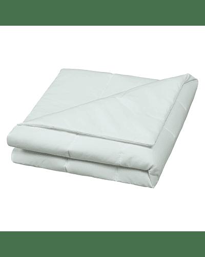 Cobertor Liso 145 X 100 Cm Verde Malva