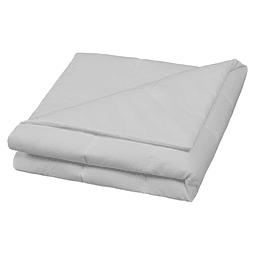 Cobertor Liso 145 X 100 Cm Gris