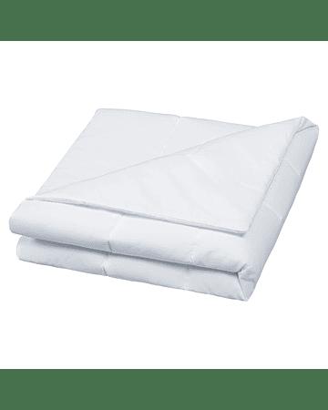 Cobertor Liso 145 X 100 Cm Blanco