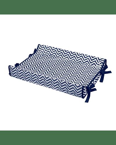 Mudador Anatomico Tejido 100% Algodón Azul Marino
