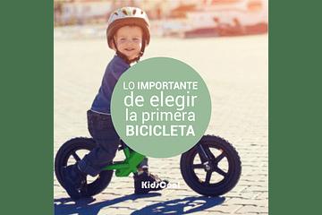 Lo importante al elegir la primera bicicleta