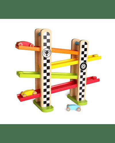 Pista madera F-1 Racing track