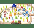 Set De Trenes 110 Pcs